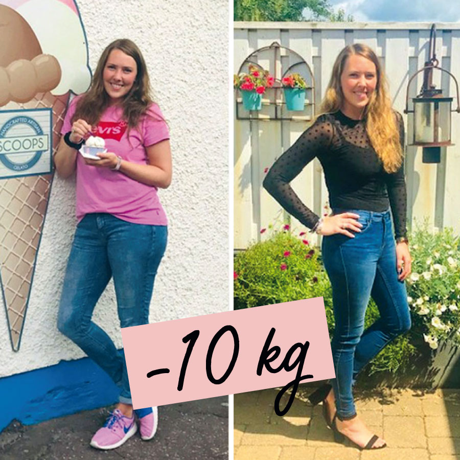 Jessy viel 10 kilo af met Zlim