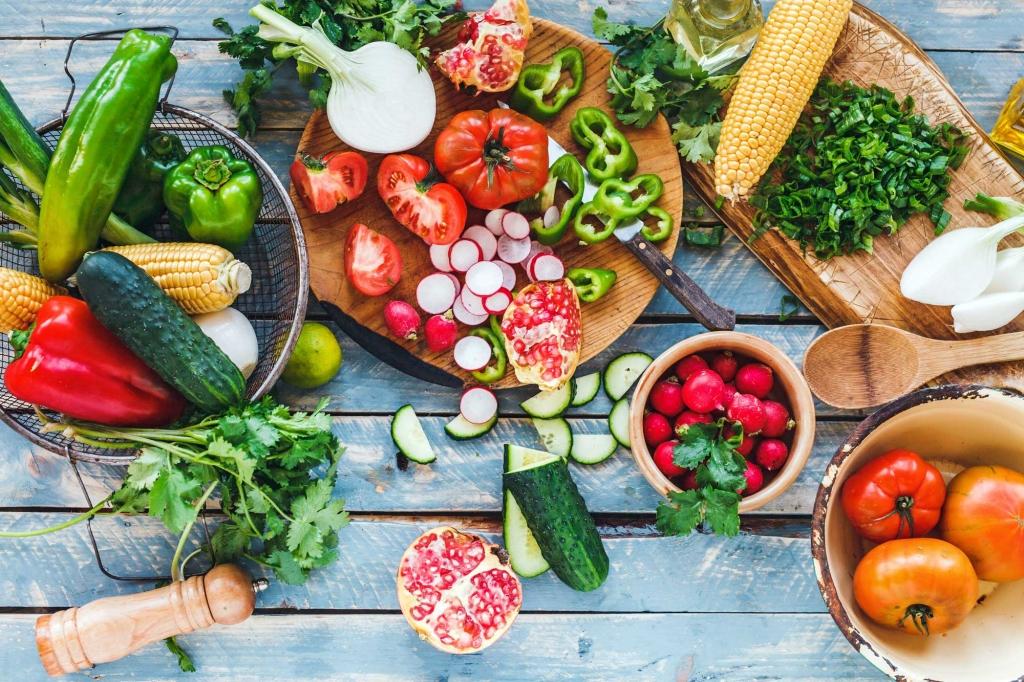Wat eten we in augustus? - Zlim seizoensgroenten